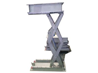 Tables élévatrices inox sur mesure